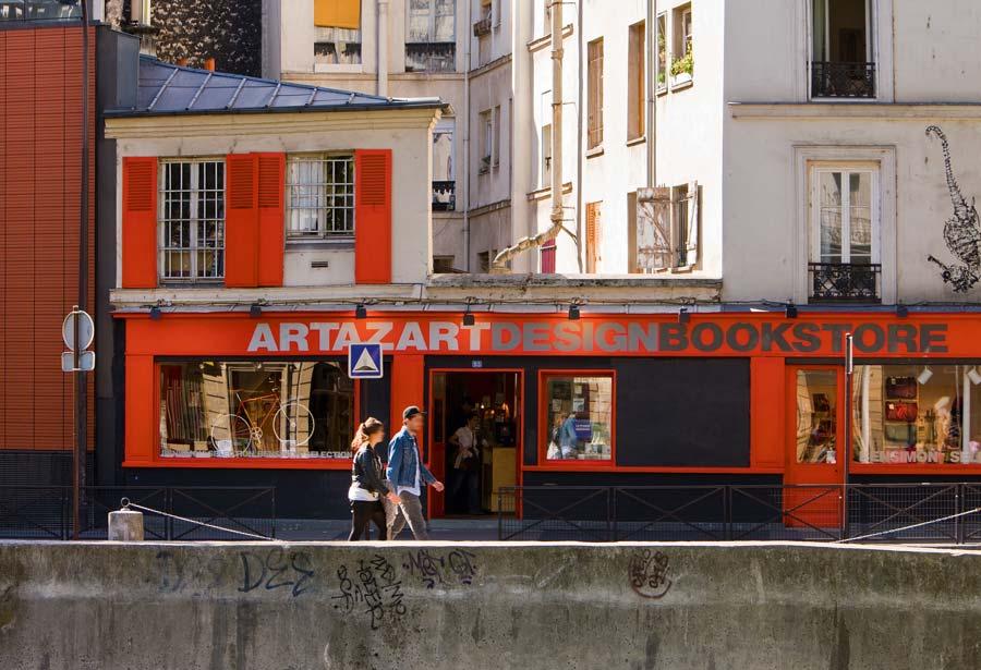 librerias paris, artazart paris