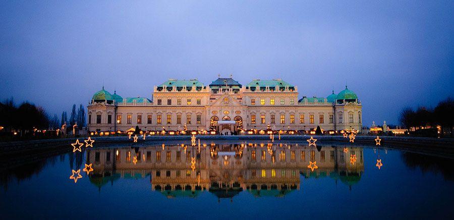palacio belvedere, viaje viena