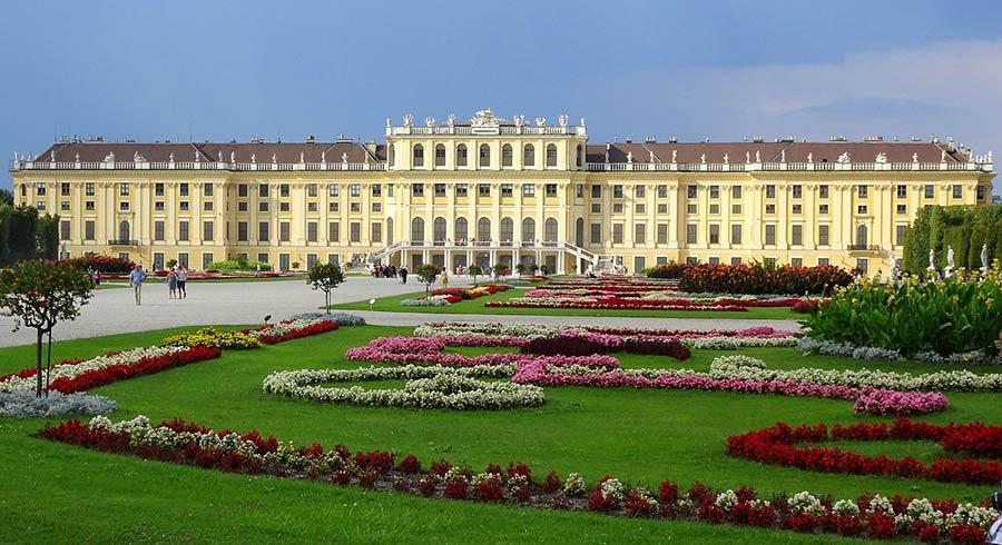palacio de Schonbrunn, viaje viena