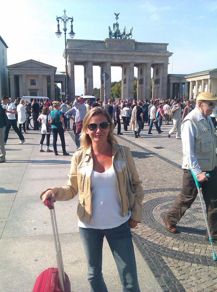 bibiana barcena, directora ibis madrid, viaje berlin