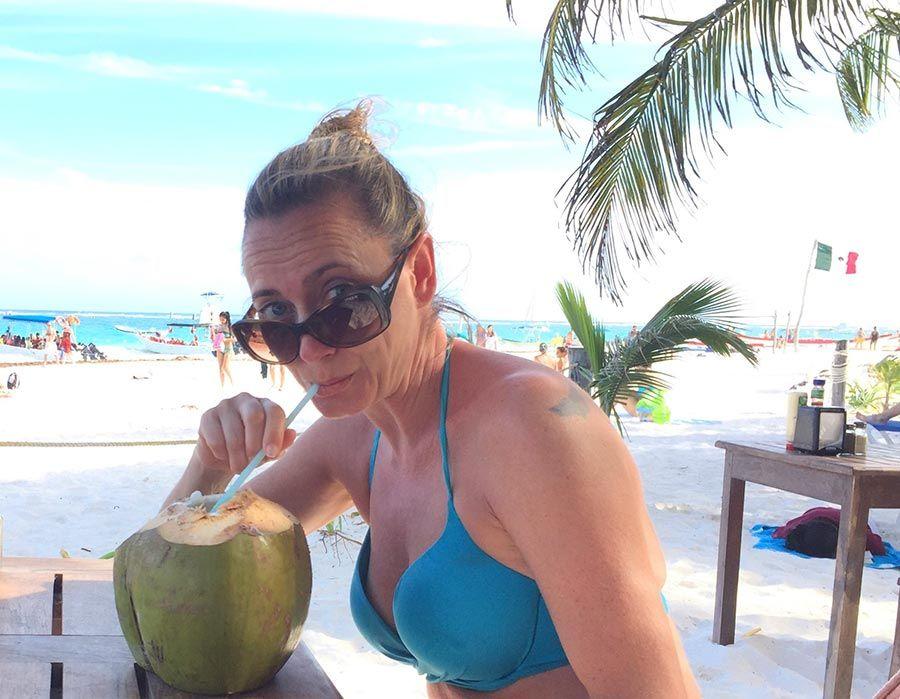 playa paraiso, viaje mexico, mujer etheria