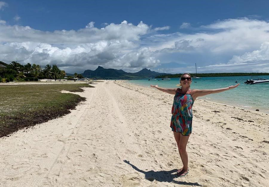 bibiana barcena, viaje isla mauricio, mujer etheria