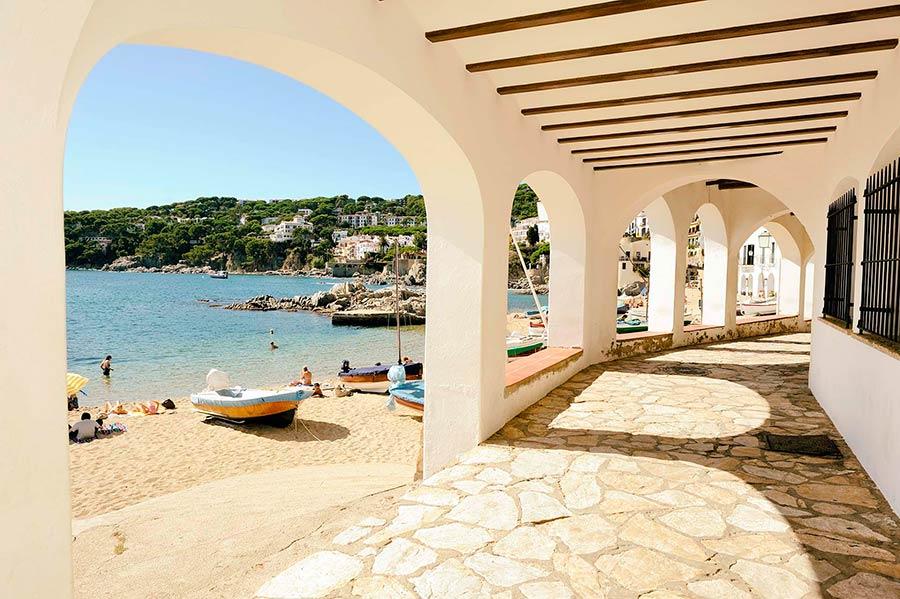 calella palafrugel, playas de Costa brava, viaje con amigas