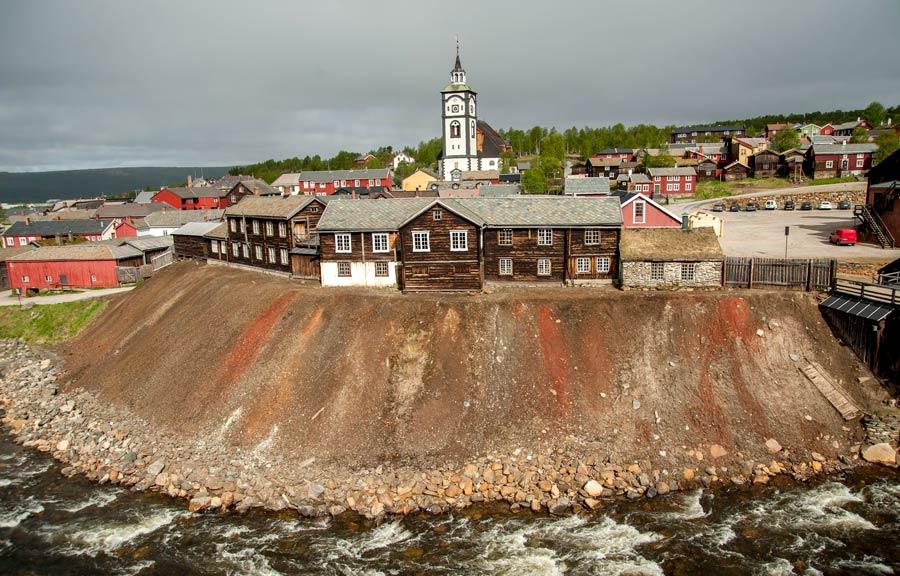 iglesia de Bergstandens Ziir, roros, noruega