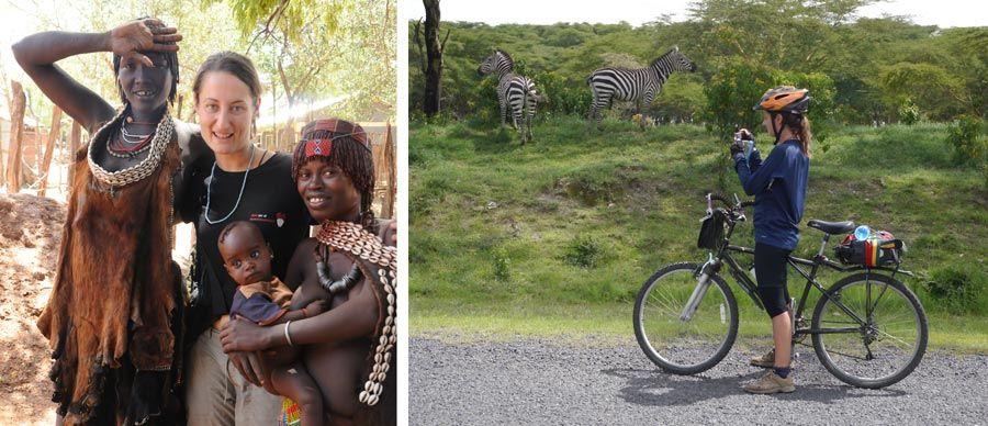 cristina senserrich, viajera etheria, viaje bicicleta africa