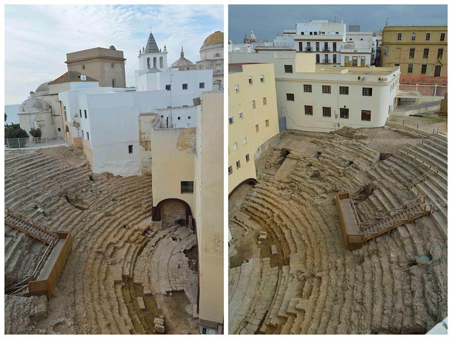 viaje cadiz, viaje vejer, que ver en cadiz, teatro romano