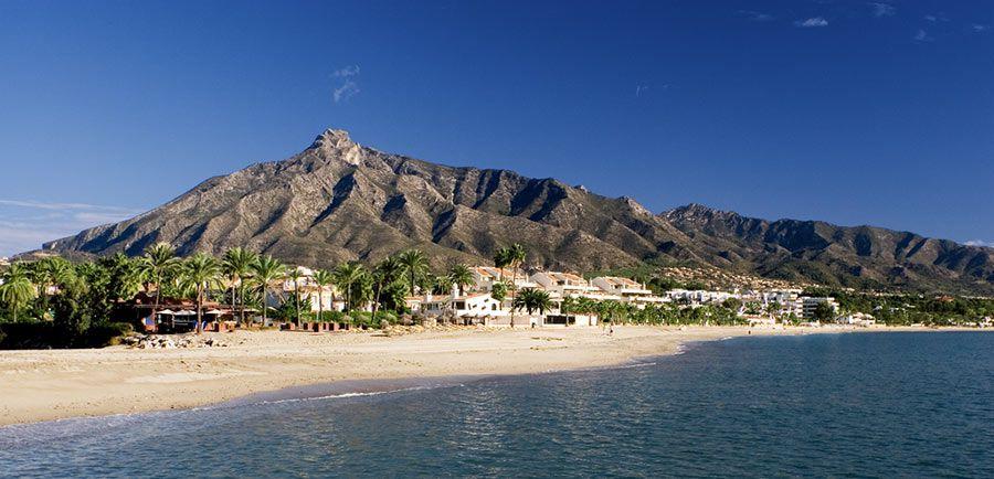 playa ancon, viaje marbella