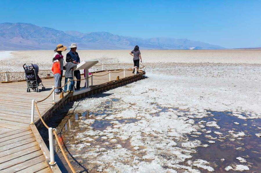 Badwater basin, Death Valley National Park, California, USA, America