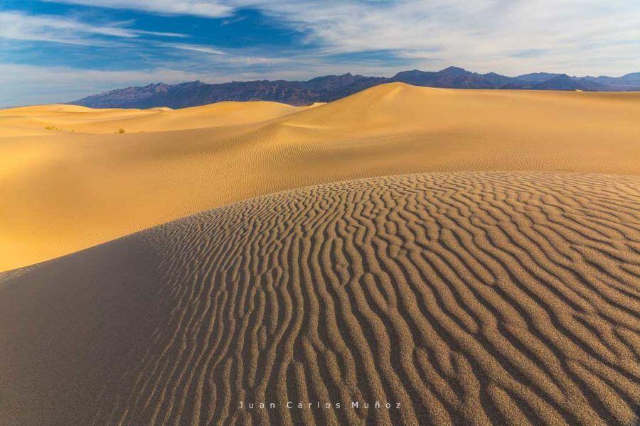 Mesquite Flat Sand Dunes, Death Valley National Park, California, USA, America