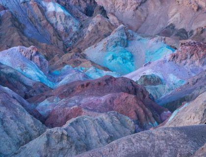 Artists Palette, Death Valley National Park, California, USA, America