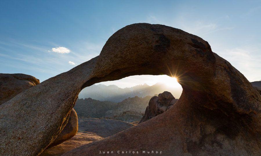 Ancient Arch, Alabama Hills, Owens Valley, Condado de Inyo, California, USA, America