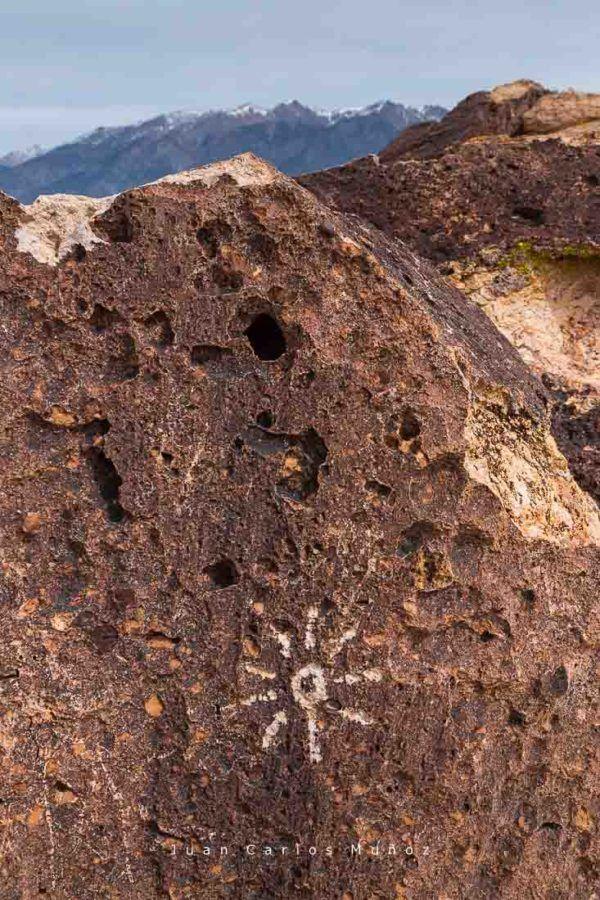 Petroglyphs, Owens Valley, Mono County, California, USA, America