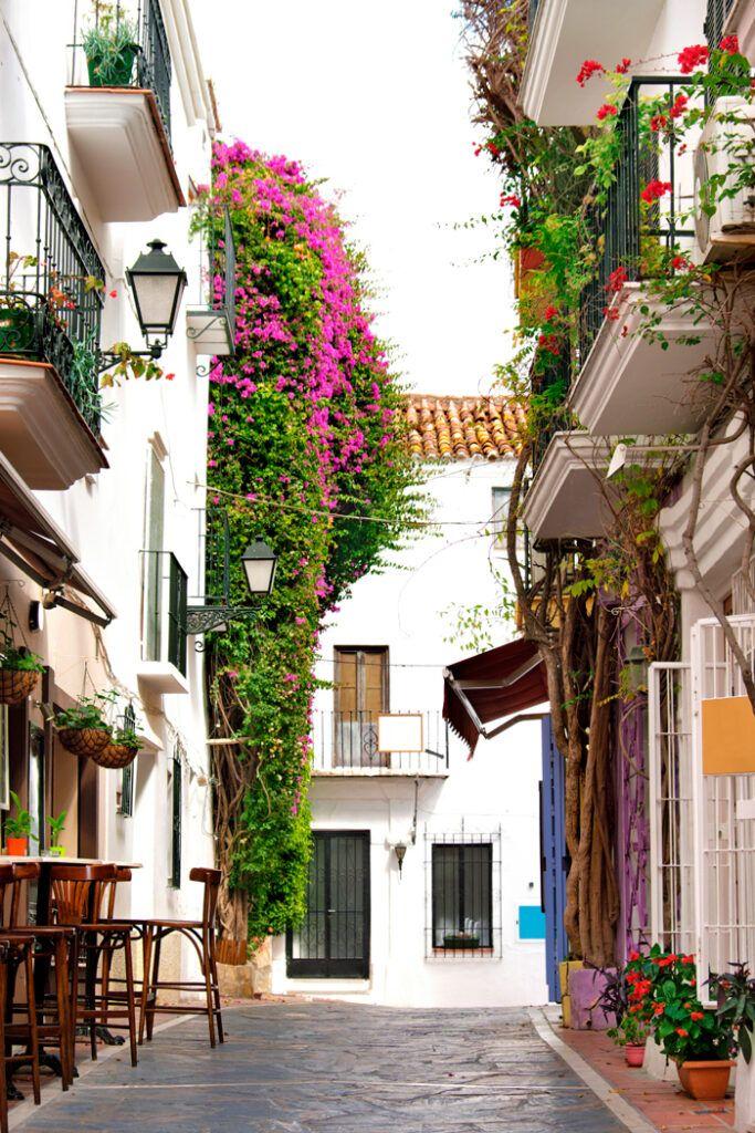 calle tipica de Andalucia