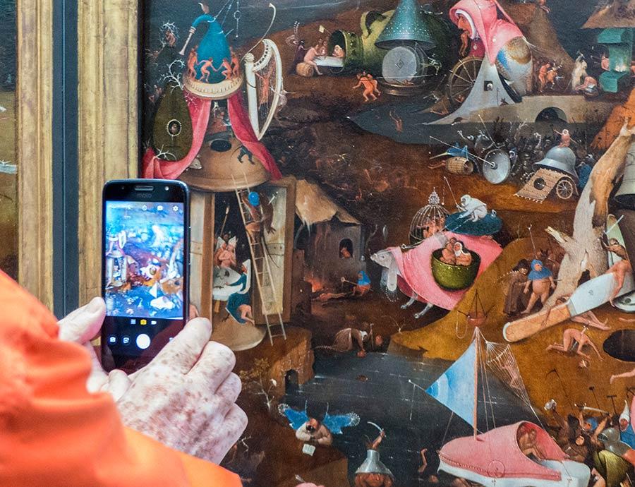 Viaje de mujeres a brujas, que ver en brujas, mujeres de flandes belgica, juicio final el bosco