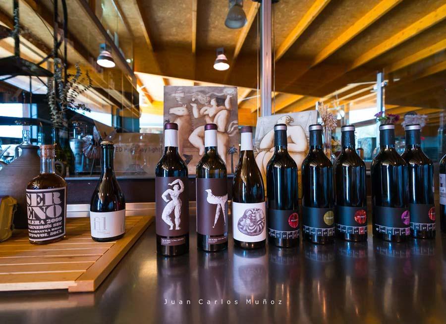 Wine cellars, La Vinyeta ecologic vineyards, Alt Empordà, Empordà region, Girona Province, Catalonia, Spain