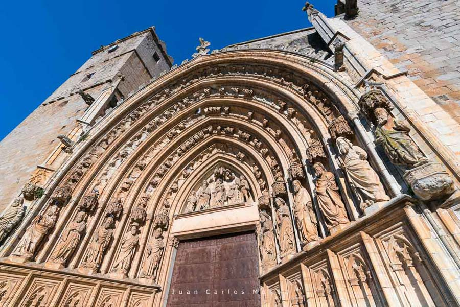 Santa Maria Basilica, Castello d'Empuries, The Costa Brava, Alt Emporda, Emporda region, Girona Province, Catalonia, Spain