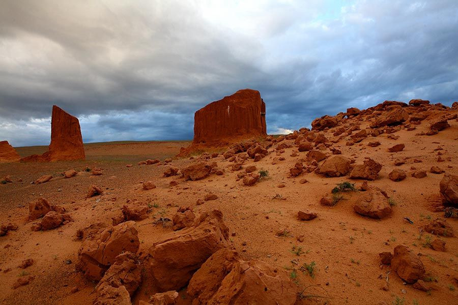 balanzag, desierto gobi, viaje mongolia