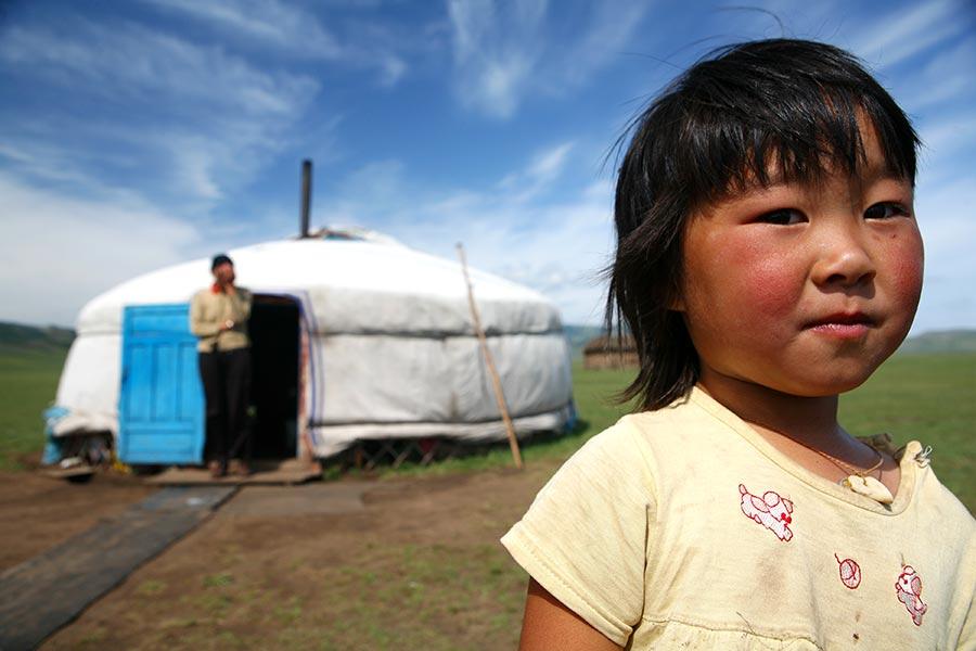 viaje mongolia, familias nomadas