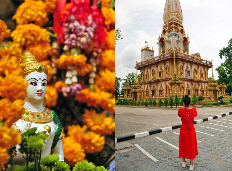 templos de phuket, tailandia con amigas
