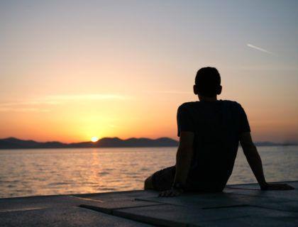 viaje croacia, que ver en zadar, puesta sol zadar