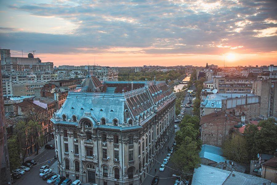 Bucarest, capital de Rumanía