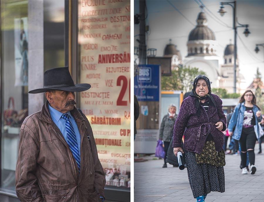 Vecinos de Brasov y Targu Mures.