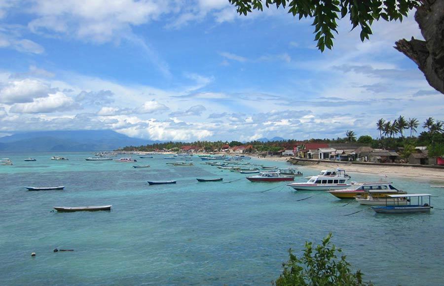 bali luna de miel, excursion lombok