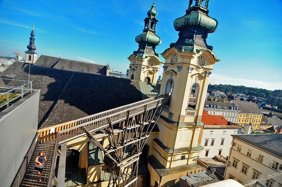 linz, que ver en linz, calles de link, visitas de Linz, viaje a austria, ooKulturquartier