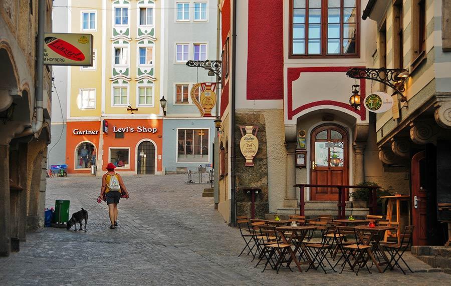 linz, que ver en linz, calles de link, visitas de Linz, viaje a austria