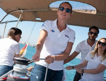 regata solidaria igualdad hombres y mujeres valencia