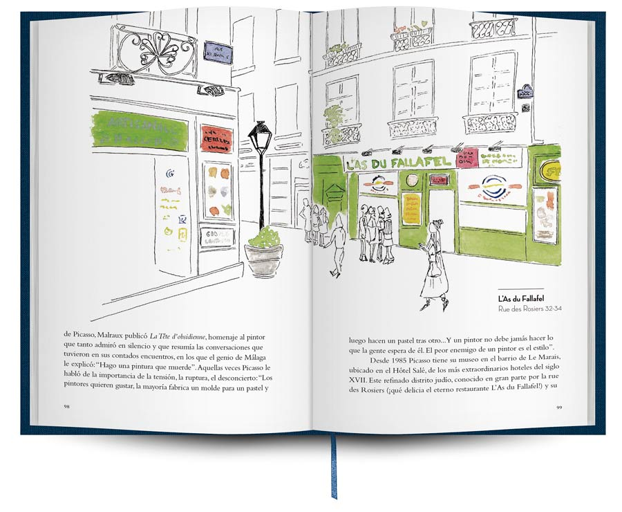guia de viaje paris, tintablanca paris, libros de viaje regalo