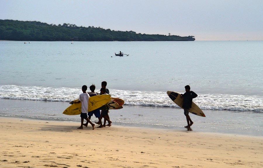 Playa de Jimbaran, viaje luna miel bali