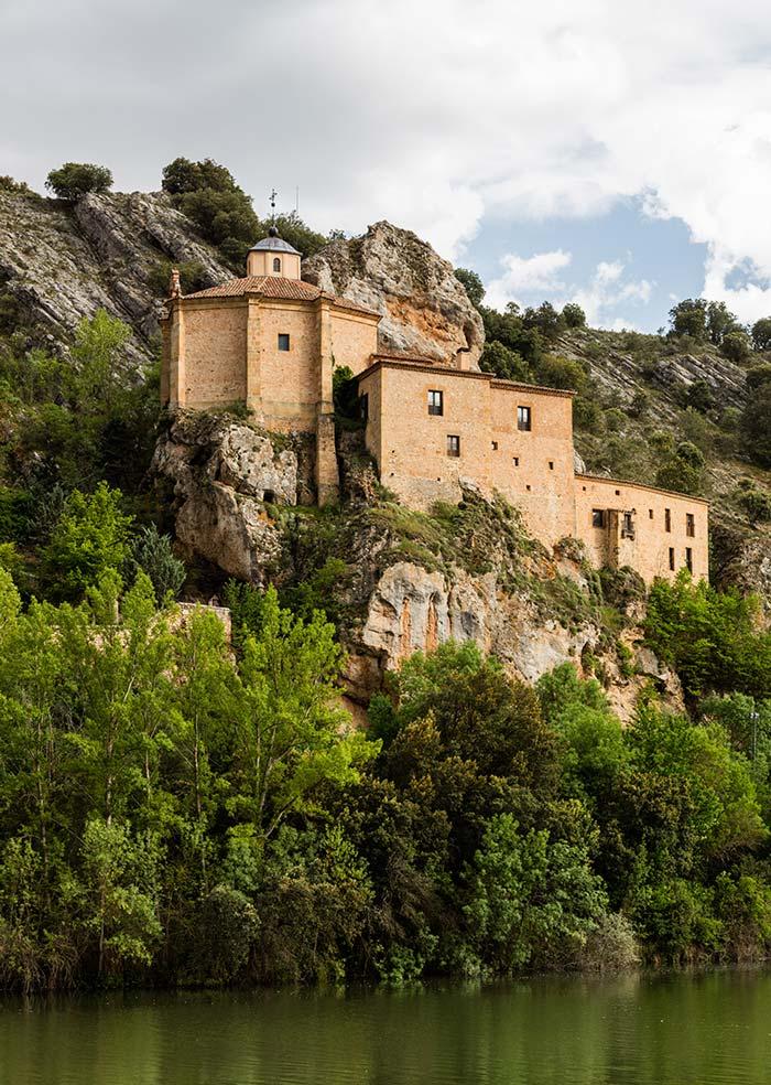 ermita san saturio, viaje soria