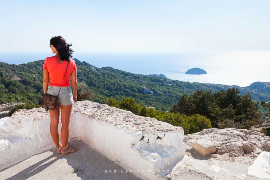 viaje a rodas, monolithos castle, archipielago dodecaneso