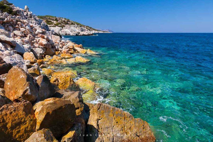Puerto de Skala Kamirou, isla rodas, islas griegas