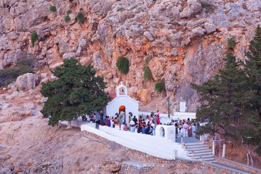iglesia san pablo, lindos, rodas, islas griegas