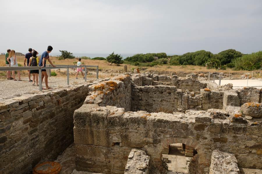 termas baelo claudia, ruinas romanas bolonia