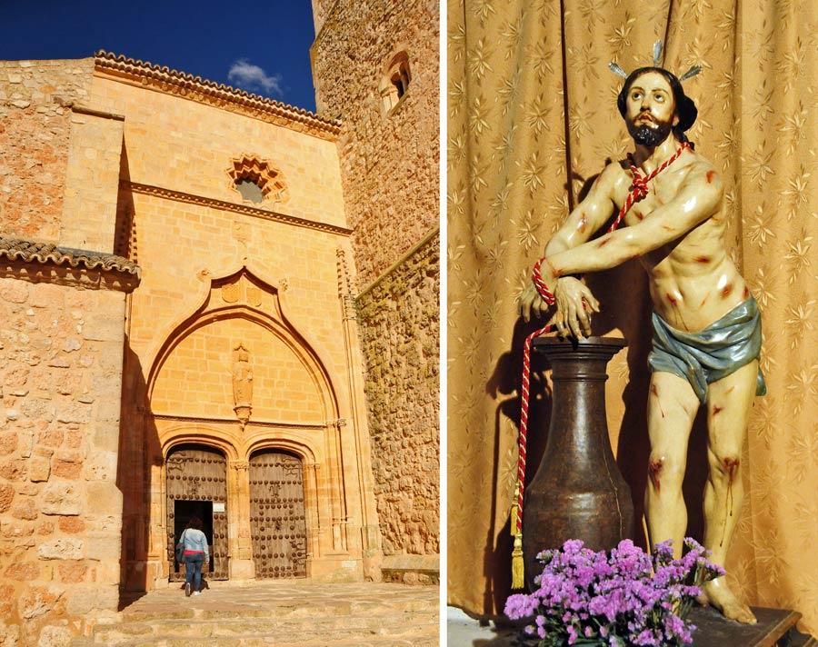 colegiata de san bartolome, torneos medievales belmonte, viaje a cuenca