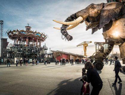 elefante nantes, viaje de Nantes