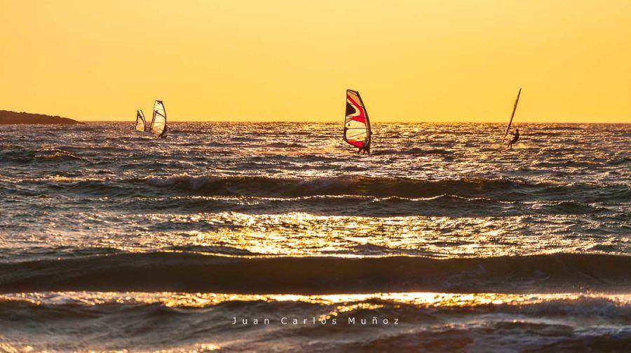 Windsurf en Prassonisi, isla rodas
