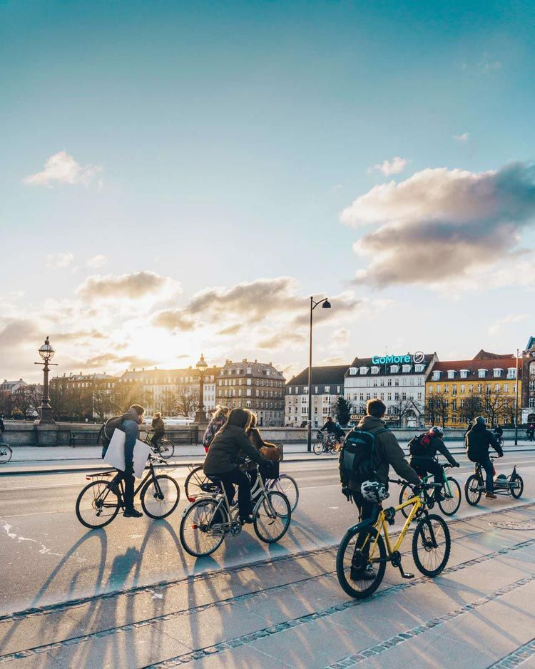 bicicleta Copenhague
