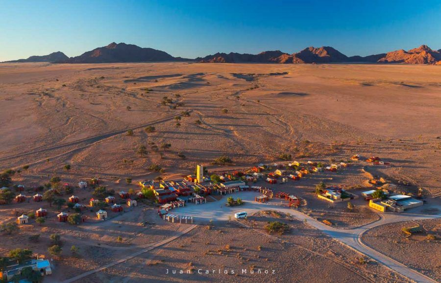 Sossusvlei Desert Lodge, Namib-Naukluft National Park, Namibia, Africa