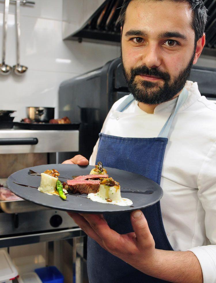 chef restaurante versatil, alex granadilla