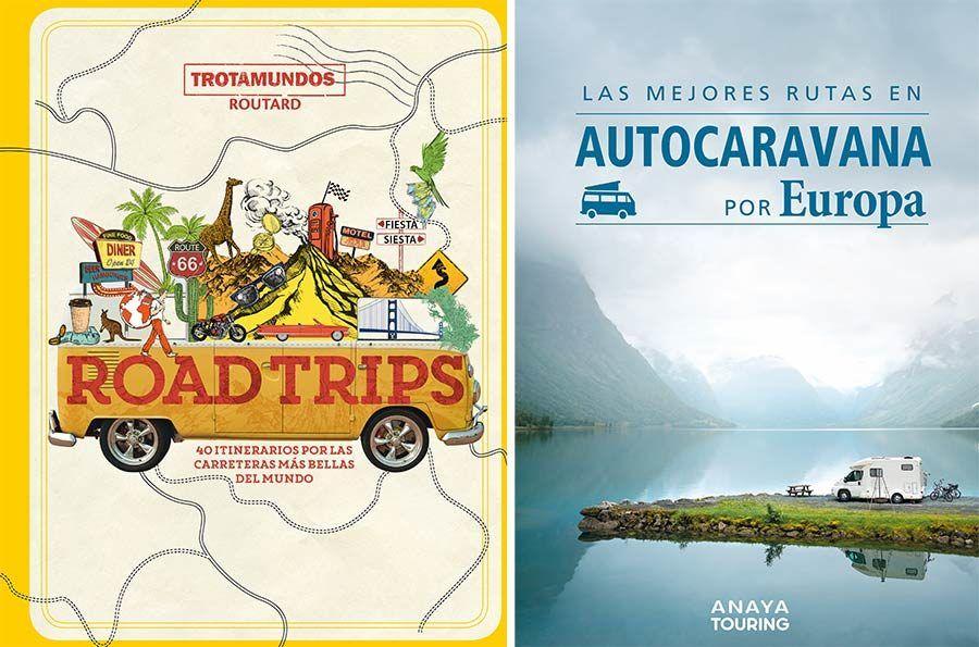 anaya touring, rutas carretera, libro autocaravana