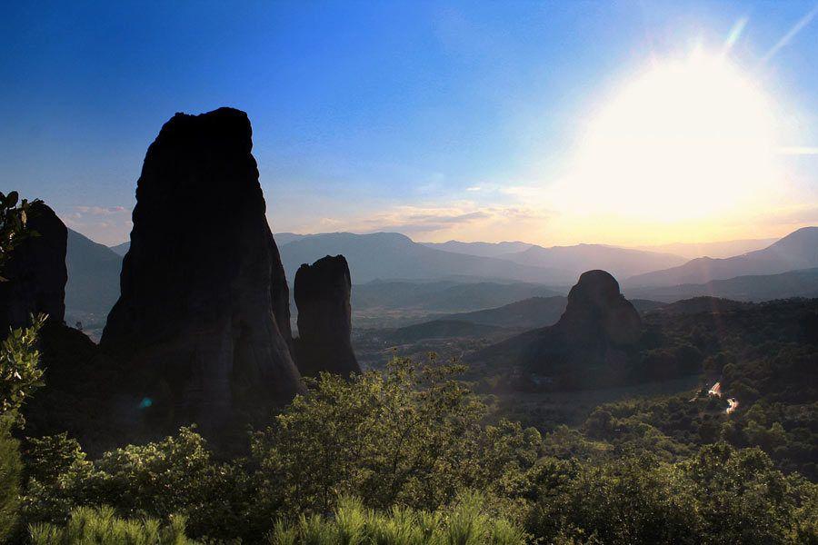 Entorno natural de Meteora