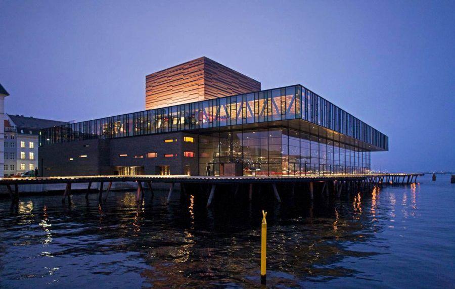 opera de copenague, arquitectura Copenhague