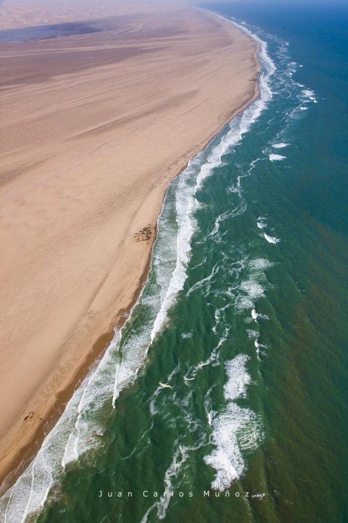 Dunas Oceano Atlantico Swakopmund Desierto Namib Namibia Africa