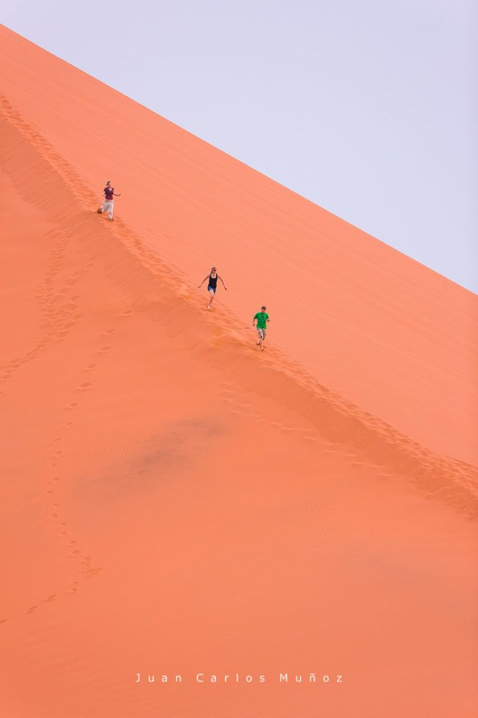 Duna 45, Sossus Vlei, Sesriem, Parque Nacional Namib Naukluft, Desierto del Namib, Namibia, Afirca