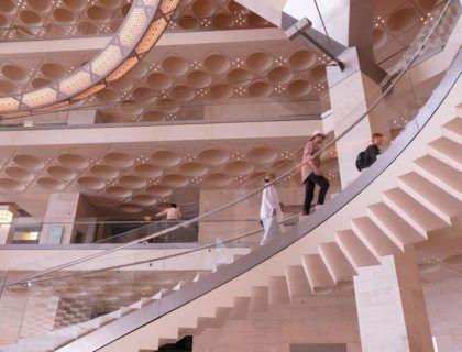 museo arte islamico, arquitectura moderna doha