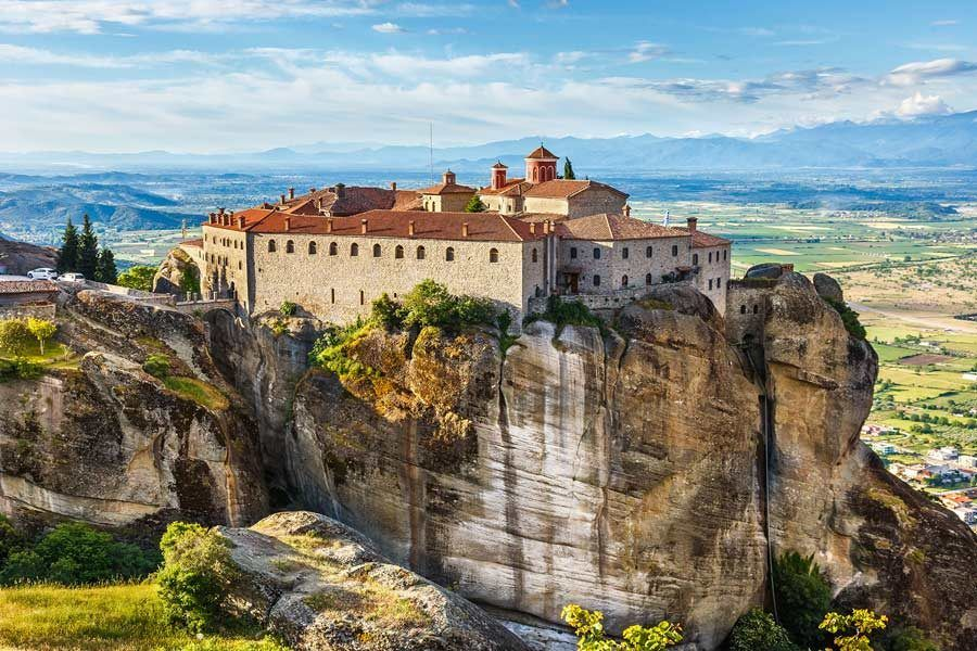 monasterio san esteban, meteora, grecia